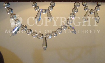 Bead Curtain Decor Crystal